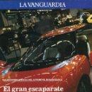 Coleccionismo Periódico La Vanguardia: JAVIER GODÓ SALON INTERNACIONAL DEL AUTOMÓVIL EN BARCELONA 14 DE MAYO DE 1989. Lote 154351142
