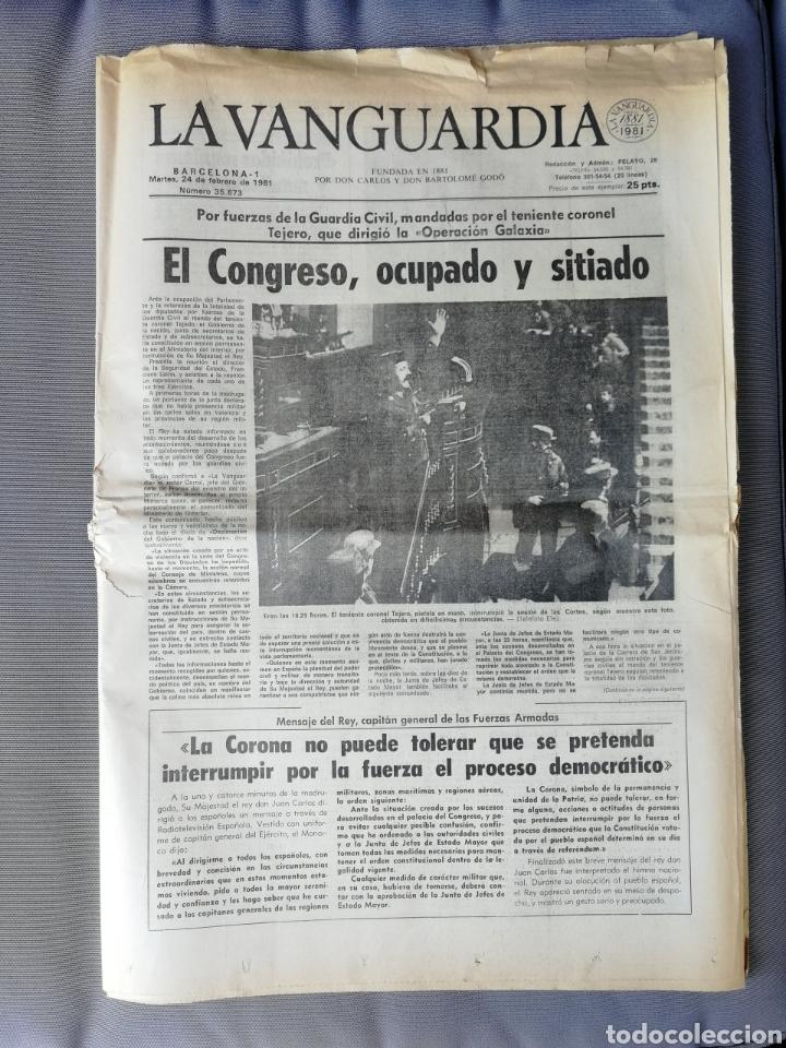 LA VANGUARDIA. 24 FEBRERO 1981 (Coleccionismo - Revistas y Periódicos Modernos (a partir de 1.940) - Periódico La Vanguardia)