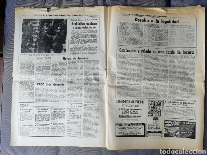 Coleccionismo Periódico La Vanguardia: LA VANGUARDIA. 24 FEBRERO 1981 - Foto 2 - 155520061