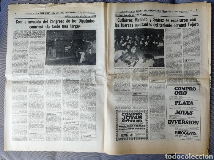 Coleccionismo Periódico La Vanguardia: LA VANGUARDIA. 24 FEBRERO 1981 - Foto 3 - 155520061