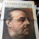 Coleccionismo Periódico La Vanguardia: LA VANGUARDIA, SUPLEMENTO GRÁFICO- GLORIA A FRANCO, CAUDILLO EN LA GUERRA Y EN LA PAZ- 1940.. Lote 158715678