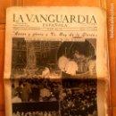 Coleccionismo Periódico La Vanguardia: DIARIO LA VANGUARDIA N,26745 MARTES 3 DE JUNIO DE 1952. Lote 159567990