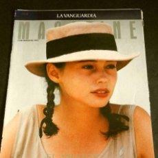 Coleccionismo Periódico La Vanguardia: EL AMANTE (REPORTAJE MAGAZINE LA VANGUARDIA 1992) (6 HOJAS) FILM JEAN-JACQUES ANNAUD (HOJAS SUELTAS). Lote 160745694
