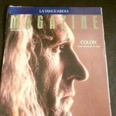Coleccionismo Periódico La Vanguardia: COLON (REPORTAJE MAGAZINE LA VANGUARDIA 1992) (7 HOJAS) 1492 FILM RIDLEY SCOTT (HOJAS SUELTAS). Lote 160746206