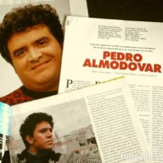 Coleccionismo Periódico La Vanguardia: ALMODOBAR (REPORTAJES MAGAZINE LA VANGUARDIA 1993) (13 HOJAS) (HOJAS SUELTAS). Lote 160747374