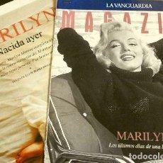 Coleccionismo Periódico La Vanguardia: MARILYN (REPORTAJES MAGAZINE LA VANGUARDIA 1991-92) 30 ANIVERSARIO DE SU MUERTE (10 HOJAS SUELTAS). Lote 160748102