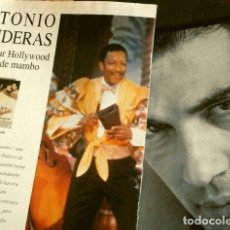 Coleccionismo Periódico La Vanguardia: ANTONIO BANDERAS (REPORTAJES MAGAZINE LA VANGUARDIA 1992) CONQUISTA HOLLYWOOD (8 HOJAS SUELTAS). Lote 160748842