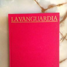 Coleccionismo Periódico La Vanguardia: CIEN AÑOS DE LA VIDA DEL MUNDO - LA VANGUARDIA - 2 TOMOS. Lote 160821254
