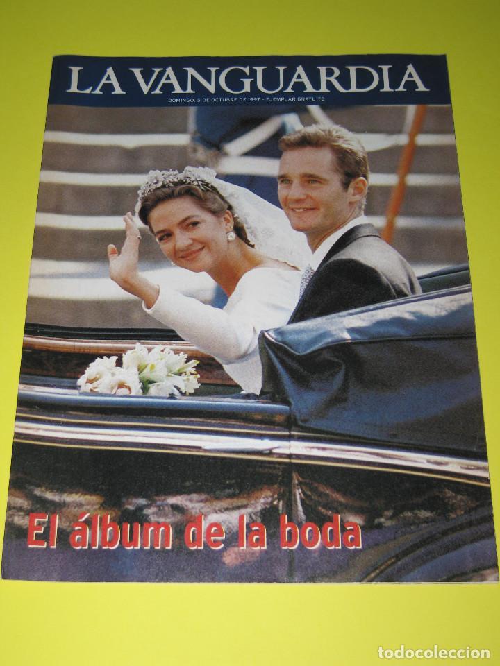LA VANGUARDIA - EL ÁLBUM DE LA BODA - 05.10.1997 - 30 PÁG. (Coleccionismo - Revistas y Periódicos Modernos (a partir de 1.940) - Periódico La Vanguardia)