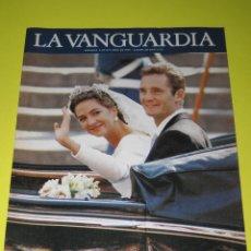 Coleccionismo Periódico La Vanguardia: LA VANGUARDIA - EL ÁLBUM DE LA BODA - 05.10.1997 - 30 PÁG.. Lote 165488090