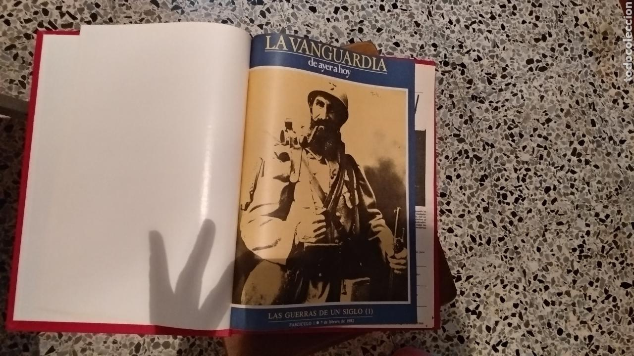 Coleccionismo Periódico La Vanguardia: DE AYER A HOY. 2 Tomos - Foto 2 - 165792984