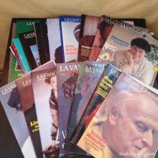 Coleccionismo Periódico La Vanguardia: LOTE 22 REVISTAS LA VANGUARDIA DOMINGOS - 1986-1988 - RARO. Lote 165900446