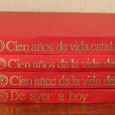 Coleccionismo Periódico La Vanguardia: CENTENARIO LA VANGUARDIA 1881-1981 CUATRO TOMOS EN PERFECTO ESTADO PASTAS DURAS VER FOTOGRAFIAS. Lote 166054570