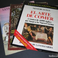Coleccionismo Periódico La Vanguardia: LOTE DE 3 REVISTAS - LA VANGUARDIA DOMINGO - ABRIL 1983. Lote 166927912