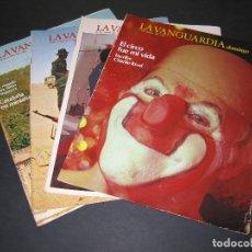 Coleccionismo Periódico La Vanguardia: LOTE DE 4 REVISTAS - LA VANGUARDIA DOMINGO - JUNIO 1983. Lote 166928320