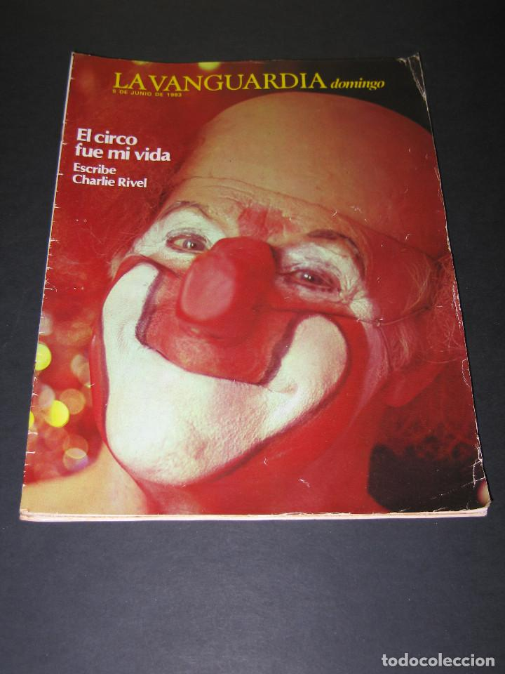 Coleccionismo Periódico La Vanguardia: Lote de 4 Revistas - LA VANGUARDIA domingo - Junio 1983 - Foto 2 - 166928320