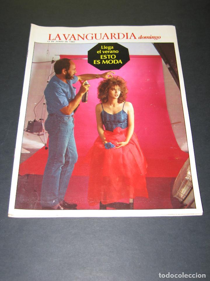 Coleccionismo Periódico La Vanguardia: Lote de 4 Revistas - LA VANGUARDIA domingo - Junio 1983 - Foto 3 - 166928320