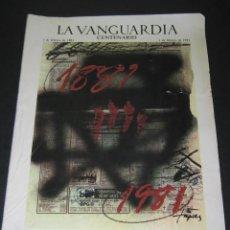 Coleccionismo Periódico La Vanguardia: LA VANGUARDIA - CENTENARIO 1881 / 1981 - 01 DE FEBRERO DE 1981. Lote 166931032