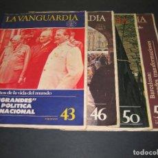 Coleccionismo Periódico La Vanguardia: 4 FASCÍCULOS - CIEN AÑOS DE LA VIDA DEL MUNDO - 1982 - LA VANGUARDIA - NÚM. 43 - 46 - 50 - 51. Lote 166931184