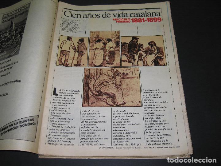 Coleccionismo Periódico La Vanguardia: 11 Fascículos - 100 AÑOS DE VIDA CATALANA - núm. 1. 2. 4. 5. 7. 8. 9. 10. 11. 12. 13 - LA VANGUARDIA - Foto 3 - 166931368