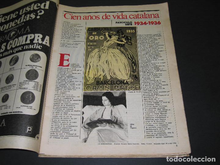 Coleccionismo Periódico La Vanguardia: 11 Fascículos - 100 AÑOS DE VIDA CATALANA - núm. 1. 2. 4. 5. 7. 8. 9. 10. 11. 12. 13 - LA VANGUARDIA - Foto 11 - 166931368