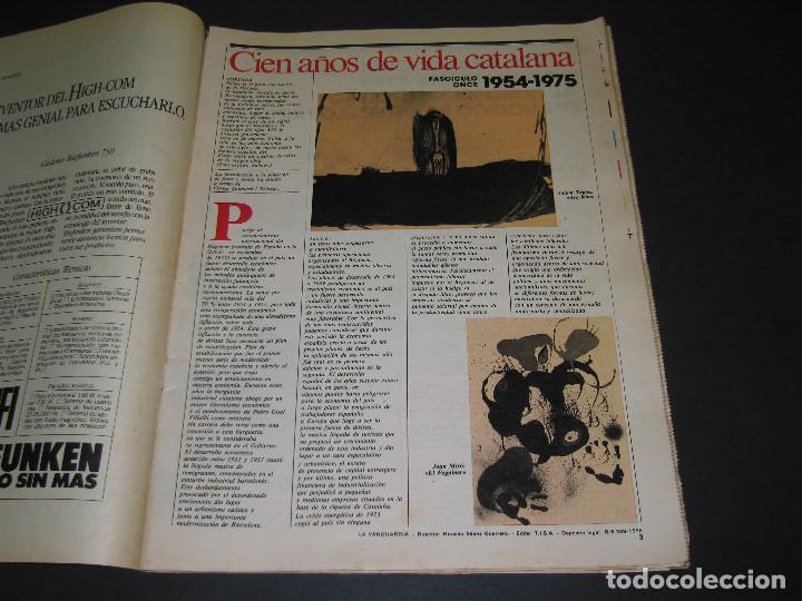 Coleccionismo Periódico La Vanguardia: 11 Fascículos - 100 AÑOS DE VIDA CATALANA - núm. 1. 2. 4. 5. 7. 8. 9. 10. 11. 12. 13 - LA VANGUARDIA - Foto 19 - 166931368