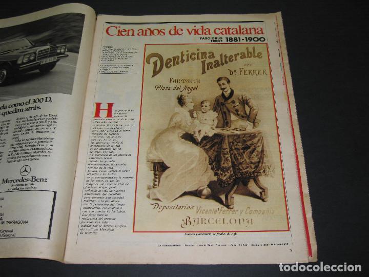 Coleccionismo Periódico La Vanguardia: 11 Fascículos - 100 AÑOS DE VIDA CATALANA - núm. 1. 2. 4. 5. 7. 8. 9. 10. 11. 12. 13 - LA VANGUARDIA - Foto 23 - 166931368