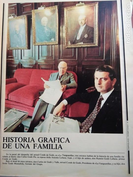 Coleccionismo Periódico La Vanguardia: LA VANGUARDIA. CENTENARIO. - Foto 4 - 167961412