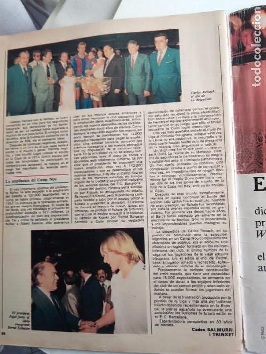 Coleccionismo Periódico La Vanguardia: HISTORIA DEL F.C. BARCELONA, DE 12 A 120.000 SOCIS - Foto 3 - 167961932