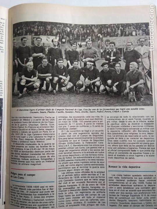 Coleccionismo Periódico La Vanguardia: HISTORIA DEL F.C. BARCELONA, DE 12 A 120.000 SOCIS - Foto 5 - 167961932