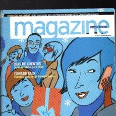 Coleccionismo Periódico La Vanguardia: MAGAZINE DE LA VANGUARDIA - ESPECIAL NAVIDAD · 16 DE DICIEMBRE DE 2001 - (204 PÁGINAS) . Lote 170331540