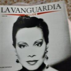 Coleccionismo Periódico La Vanguardia: REVISTA 1/1989 -VANGUARDIA- MUJER- PALOMA SAN BASILIO GRAN RPTJE. ROSA MARIA SARDÁ, LA MODA. Lote 174961425