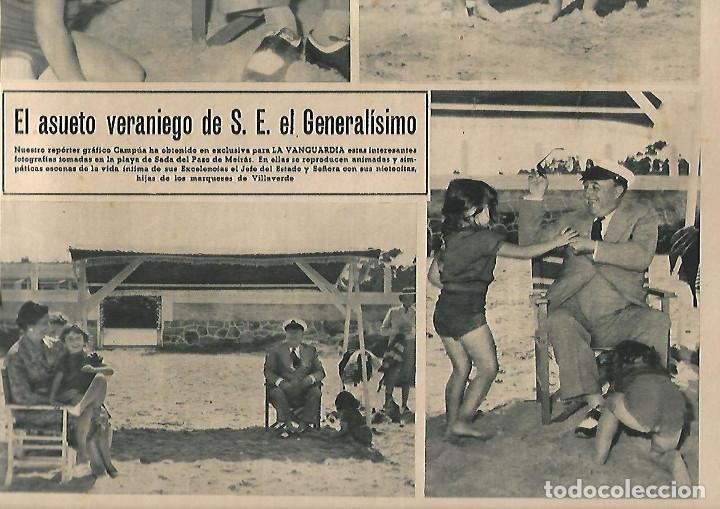 Coleccionismo Periódico La Vanguardia: AÑO 1954 PUBLICIDAD RELOJ OMEGA JABON JABONES JUPERINA BCNA VACACIONES FRANCO EN PAZO DE MEIRAS - Foto 2 - 9319795