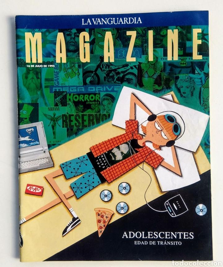 Coleccionismo Periódico La Vanguardia: Lote de 5 Revistas. Magazine La Vanguardia. - Foto 2 - 177005902