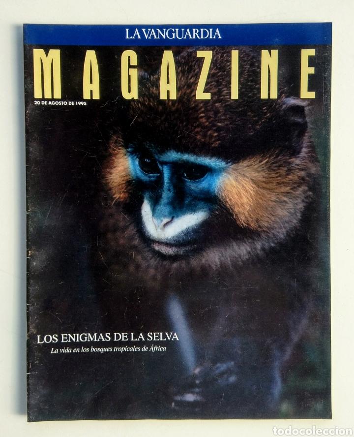 LOTE DE 5 REVISTAS. MAGAZINE LA VANGUARDIA. (Coleccionismo - Revistas y Periódicos Modernos (a partir de 1.940) - Periódico La Vanguardia)