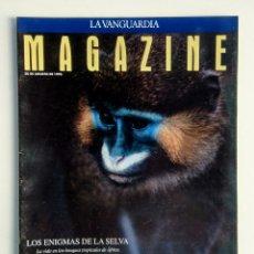 Coleccionismo Periódico La Vanguardia: LOTE DE 5 REVISTAS. MAGAZINE LA VANGUARDIA.. Lote 177005902