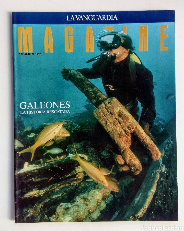 Coleccionismo Periódico La Vanguardia: Lote de 4 Revistas. Magazine La Vanguardia. - Foto 3 - 177008869
