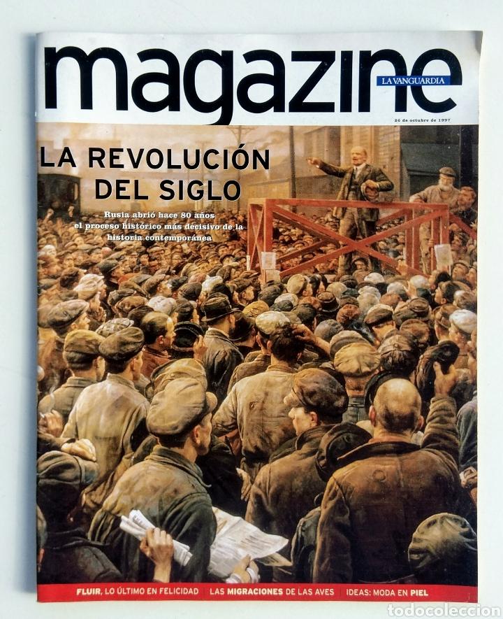 LOTE DE 4 REVISTAS. MAGAZINE LA VANGUARDIA. (Coleccionismo - Revistas y Periódicos Modernos (a partir de 1.940) - Periódico La Vanguardia)