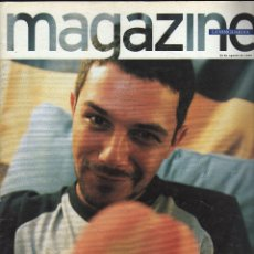 Colecionismo Jornal La Vanguardia: MAGAZINE DE LA VANGUARDIA (30 AGOSTO 1998) · EN PORTADA: ALEJANDRO SANZ (68 PÁGINAS). Lote 177185455