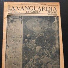 Coleccionismo Periódico La Vanguardia: FELICITACIÓN NAVIDAD Y AÑO NUEVO EL REPARTIDOR DE LA VANGUARDIA ESPAÑOLA 1952. Lote 180477763