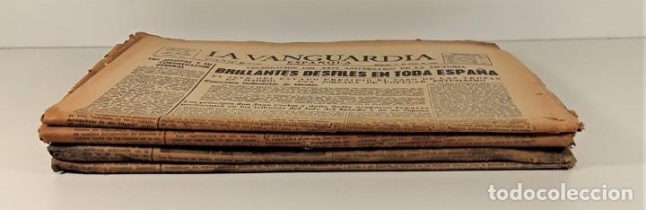 Coleccionismo Periódico La Vanguardia: LA VANGUARDIA ESPAÑOLA. 4 EJEMPLARES. MÀRIUS CAROL. BARCELONA. 1965/66. - Foto 2 - 181721007