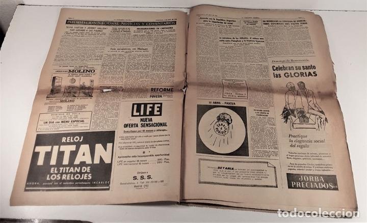 Coleccionismo Periódico La Vanguardia: LA VANGUARDIA ESPAÑOLA. 4 EJEMPLARES. MÀRIUS CAROL. BARCELONA. 1965/66. - Foto 7 - 181721007