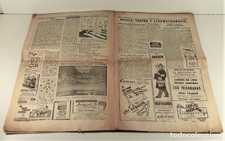 Coleccionismo Periódico La Vanguardia: LA VANGUARDIA ESPAÑOLA. 4 EJEMPLARES. MÀRIUS CAROL. BARCELONA. 1965/66. - Foto 12 - 181721007