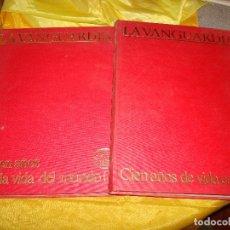 Coleccionismo Periódico La Vanguardia: CIEN AÑOS DE VIDA CATALANA / CIEN AÑOS DE VIDA EN EL MUNDO. 2 VOL. ENCUADERNADOS. LA VANGUARDIA. Lote 181770255