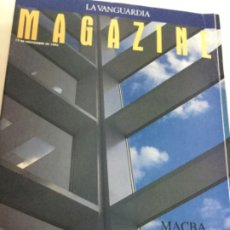 Coleccionismo Periódico La Vanguardia: MAGAZINE - MACBA - NOV. 1995. Lote 182055391