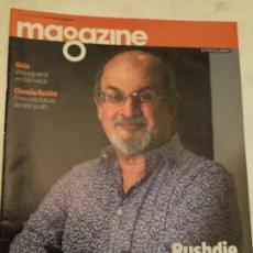 Coleccionismo Periódico La Vanguardia: MAGAZINE - RUSHDIE - 2013. Lote 182538003