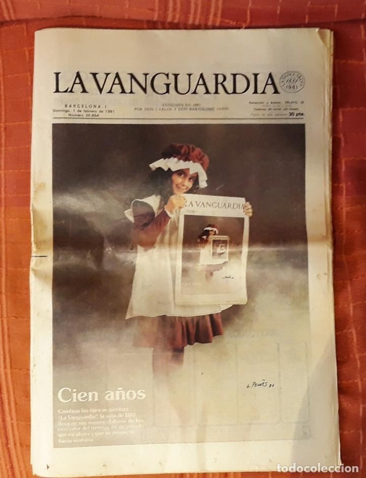 LA VANGUARDIA 100 AÑOS (Coleccionismo - Revistas y Periódicos Modernos (a partir de 1.940) - Periódico La Vanguardia)