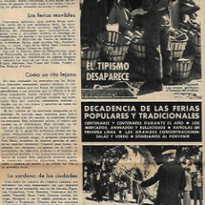 Coleccionismo Periódico La Vanguardia: AÑO 1966 FERIA MUESTRAS BARCELONA REUS GIRONA LLEIDA FIESTAS POPULARES PUIGCERDA VILAFRANCA PENEDES. Lote 10685594