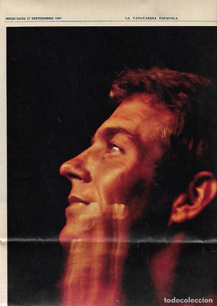 Coleccionismo Periódico La Vanguardia: AÑO 1967 EL HOY DE BARCELONA Y EL MAÑANA METRO PUBLICIDAD FLOID YOGUR RAM RELOJ OMEGA ZARZUELA RIBAS - Foto 7 - 10686902