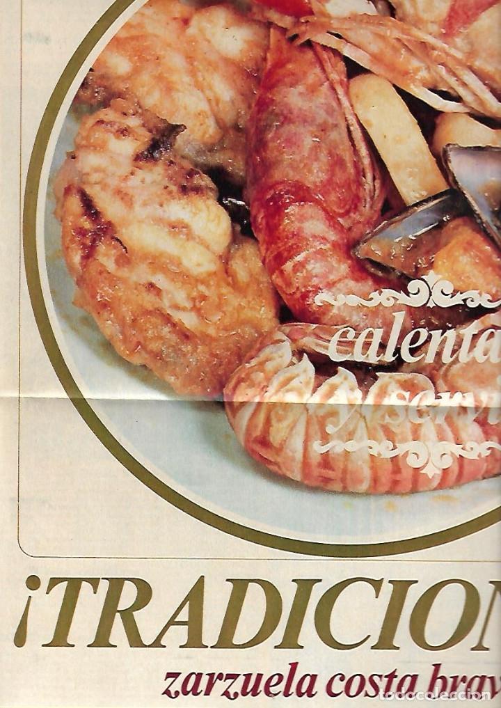 Coleccionismo Periódico La Vanguardia: AÑO 1967 EL HOY DE BARCELONA Y EL MAÑANA METRO PUBLICIDAD FLOID YOGUR RAM RELOJ OMEGA ZARZUELA RIBAS - Foto 8 - 10686902